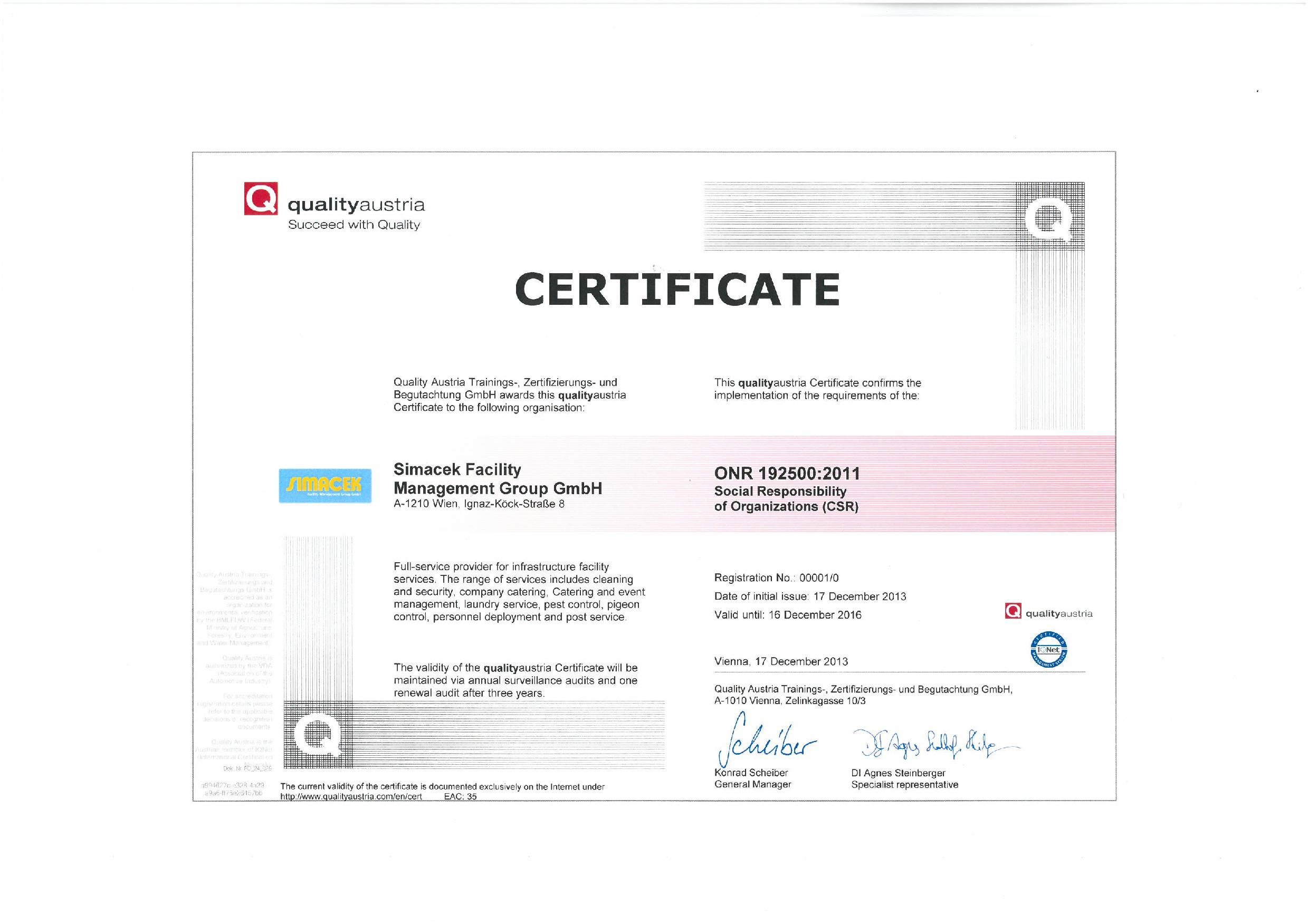 Iso Certification Guaranteed Quality